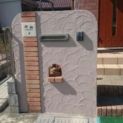 門塀の塗り替え工事