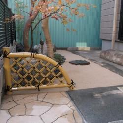 ミニ和風庭園の造園リフォーム