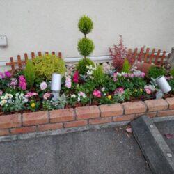 動物病院花壇リフォーム